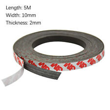 5M Flexible Self Adhesive Magnet Rubber Tape Roll Strong Magnetic Craft Strip