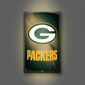 GREEN BAY PACKERS MOTIGLOW LIGHT UP SIGN MOTION ACTIVATED PREMIUM NFL LAMP NIGHT