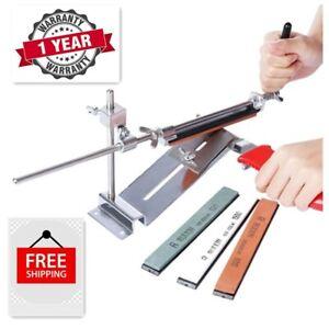 Knife Sharpeners  l 4 Batu Pengasah Pisau Profesional  l Grinder Sharpening with