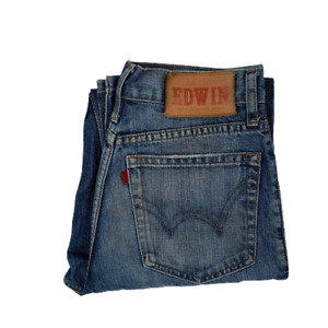 Edwin Men's Denim Jeans Straight Wash Size 30x32