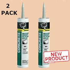 2 Pack Concrete Latex Caulk Cartridge Paintable Waterproof Filler Mortar Sealant