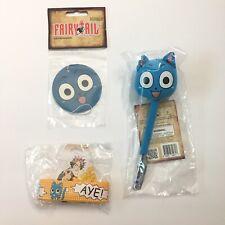 Fairytail Happy Bundle Set Pen + Air Freshener + Bracelet Brand New