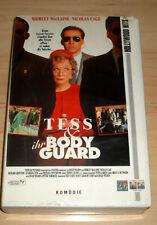 VHS Film - Tess & Ihr Bodyguard ( und ) - Nicolas Cage - Videokassette