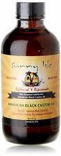 Sunny Isle 100% Pure Jamaican Black Castor Oil for Hair, Eyelashes Eyebrows 4oz