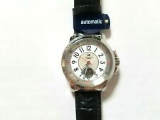 NWT AUTHENTIC TOMMY HILFIGER AUTOMATIC 50 M LEATHER BAND LADIES WATCH 1780818
