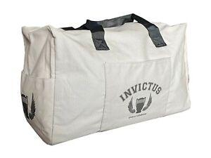 Paco Rabanne Invictus Travel Weekend Duffle Bag Grey Men