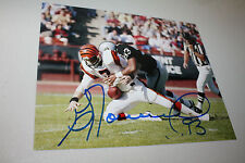 OAKLAND/LA RAIDERS GREG TOWNSEND #93 SIGNED 8X10 PHOTO SB XVIII CHAMPS W/BOOMER
