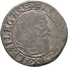 Schlesien Liegnitz Brieg Groschen 1545 Münze Coin (D113)