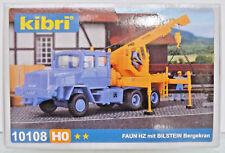 Kibri 1/87 (H0) 10108 Faun Hz 36.40/45 con Bilstein-bergekran