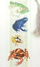 VTG Bookmark - 1995 Tammy Herriman Quality Artworks Earth Creatures Frogs Canada