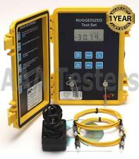 FIS 9082-0000 Ruggedized SM Fiber Optic Loss Test Set 9082 0000