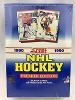 1990 Score Hockey Premier Edition Cards 540 Player Set NEW SEALED Box