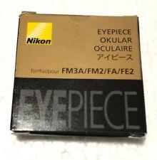Nikon FA Eyepiece FM3A/FM2/FA/FE2 from japan
