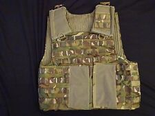 British Army OSPREY MK4 MTP Body Armour Cover / Molle Vest 180/116 - Grade 2
