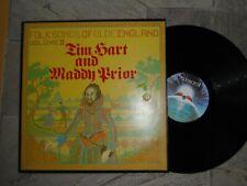TIM  HART & MADDY PRIOR FOLK SONGS OF OLDE ENGLAND VOL II LP 1968 N/M