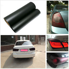 100cm x 30cm Car SUV Tailight Matte Black Vinyl Wrap Film Sheet Overlay Sticker