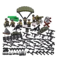 Minifiguren WW2 US Armee, Army, Militär, LEGO® kompatibel, NEU