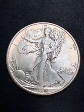 1936-D Walking Liberty Half Dollar  - Better Date -  AU