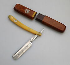 Vintage Shaving : A German Solingen Puma Special 88 Cut Throat Razor - Boxed