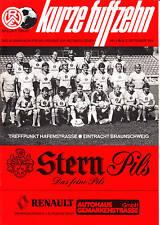 II. BL 86/87  Rot-Weiß Essen - Eintracht Braunschweig, 02.09.1986