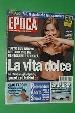 EPOCA 1995 ORNELLA MUTI STEPHANIE DI MONACO M. MONICELLI FAROUK MARINA SCRIGNA