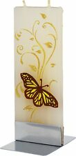Hand made flat candle Butterfly no drip, no smoke, Gift Idea