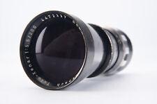 Schneider 200mm f/5.5 Tele Xenar Lens with Cap & Case for Robot Royal RARE V11