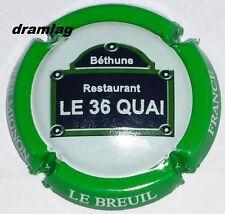 Capsule de Champagne:   MIGNON Pierre , restaurant Le 36 quai , n°60
