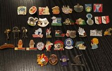 Swiss Suisse Switzerland Numbered Pins Lot of 39