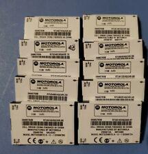 10X Motorola Snn5783B Battery For Q9h C290 Deluxe Ic902 V195 V197 V325i 1130mAh