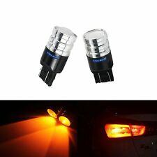 2x Orange T20 7443 7440 W21/5W W21W 5W Ampoules LED Arrière avant feu clignotant
