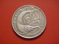 Singapore 20 Cents, 1979, Swordfish