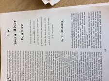 75-2 ephemera article the swan river venture w charnley