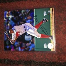 Xander Bogaerts Red Sox Autographed 8x10  Photo - Fanatics and MLB Hologram
