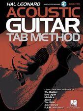 Hal Leonard Acoustic Guitar Tab Method Book 2 - Guitar Tab Method Book 000131207