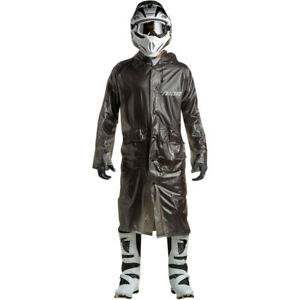Thor MX Adult Motorcycle ATV Excel Rain Trench Coat Black OSFA