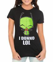 Invader Zim I Dunno Junior Women's T-Shirt