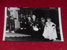 FUNDS GERMAINE ROGER VINTAGE PHOTO CHEVALIER DU CIEL LUIS MARIANO 1955