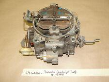 69 Cadillac 472/500 ENGINE ROCHESTER 4BBL QUADRAJET CARBURETOR CARB 7029231 Core