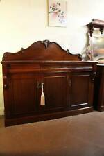 A Large Victorian Mahogany Chiffonier Sideboard Buffet *FREE DELIVERY *T&C's