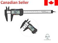 "LCD Digital Electronic Vernier Caliper Gauge Micrometer 150mm 6"""