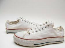 MENS VINTAGE CONVERSE ALL STAR MADE IN THE USA WHITE LOW BASKETBALL SHOES SZ 7