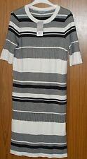 BNWT* Dorothy Perkins Ladies Black & White S/S Knitted Dress* UK Size 14 Petite