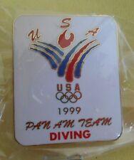Diving USA Pan Am Team 1999 NEW Olympic Lapel Pin