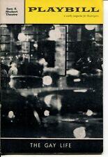 Walter Chiari Barbara Cook Jules Munshin The Gay Life 1961 Playbill
