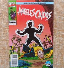 Comic Ángeles Caídos, nº 1, Marvel, Comics Forum, Jo Duffy, Tom Palmer, 1991