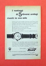 D246 - Advertising Pubblicità - 1953 - TISSOT SUPER SIDERAL