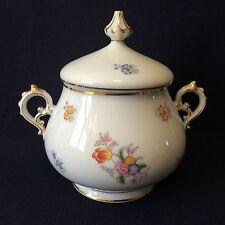 Sucrier en porcelaine dure diffuseur Sacné Marseille Louis-Philippe 1er cir 1840