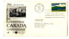 Sobre primer día Canada First Day Stamps sellos Circulado