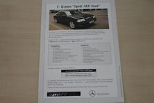 184199) Mercedes C-Klasse W202 Sport ATP Tour - Preise & Extras - Prospekt 09/